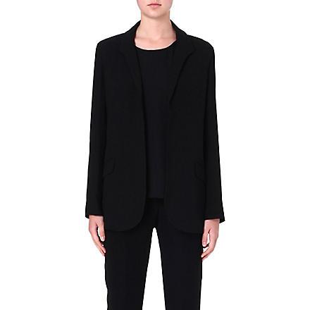 THEORY Jaho crepe blazer (Black