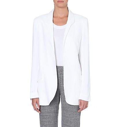 THEORY Jaho crepe blazer (White