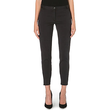 THEORY Chipri slim-fit trousers (Black