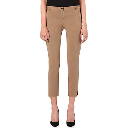 THEORY Chipri slim-fit trousers (Khaki