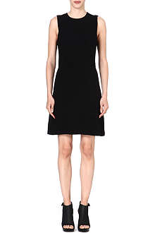 THEORY Rimlan stretch-crepe dress