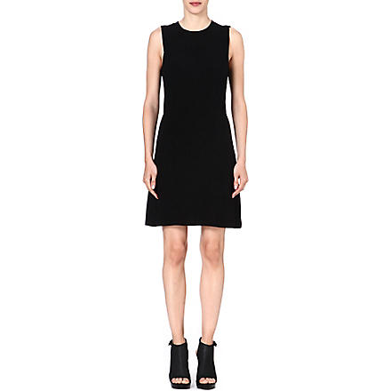 THEORY Rimlan stretch-crepe dress (Black
