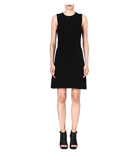 THEORY Rimlan stretch-crepe dress (Black