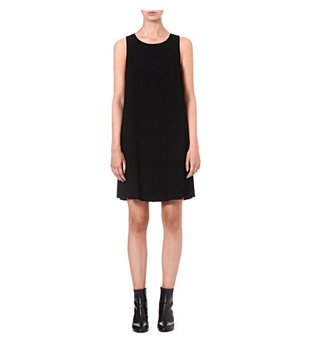 THEORY Docma crepe dress (Black
