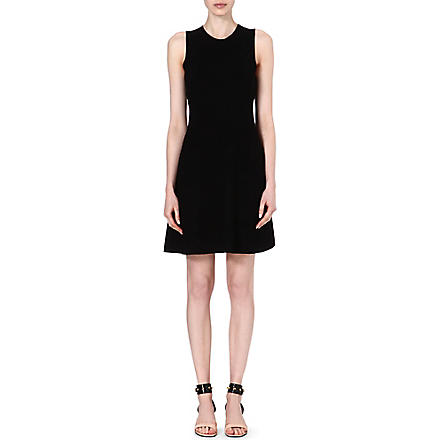THEORY Maysen stretch-crepe dress (Black