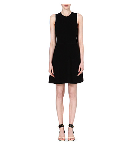 THEORY Maysen stretch-crepe dress (Black