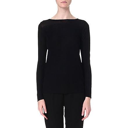 THEORY Keshi knitted jumper (Black