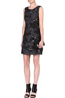 THEORY Forella embellished dress
