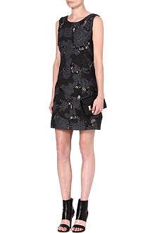THEORY Forella embellished dress