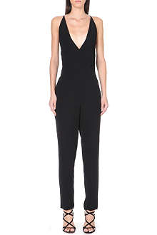 THEORY Roxie v-neck jumpsuit