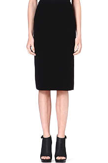 THEORY Crepe pencil skirt