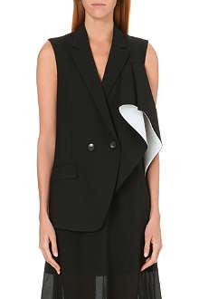 THEORY Monochrome waistcoat