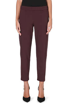THEORY Korene Trinity 2 stretch-crepe trousers