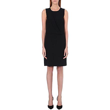 THEORY Dialia crepe dress (Black
