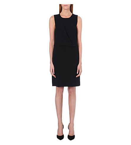THEORY Dialia crepe dress (Black