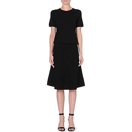 THEORY Pheebry wool-blend dress (Black