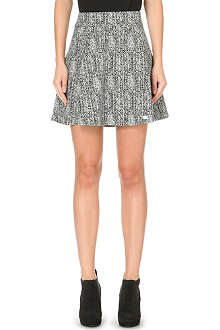 THEORY Doreen flared mini skirt