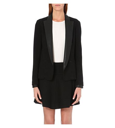 THEORY Leandria tuxedo jacket (Black