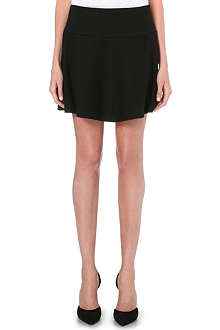 THEORY Sione flared mini skirt