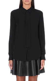 THEORY Emmanuelle silk shirt
