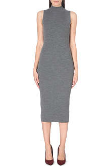 THEORY Ulana ribbed-knit dress