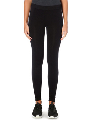 THEORY Stretch-jersey leggings