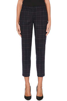 THEORY Adept cropped tailored trousers