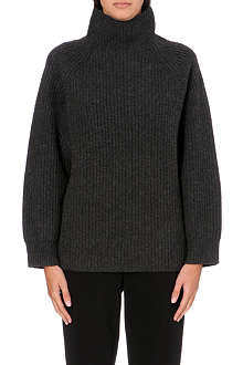 THEORY Haven turtleneck wool and cashmere-blend jumper