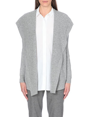 THEORY Winxie draped cashmere cardigan