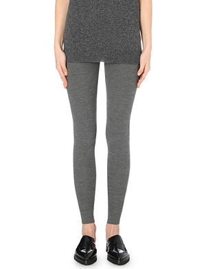 THEORY Knitted stretch leggings