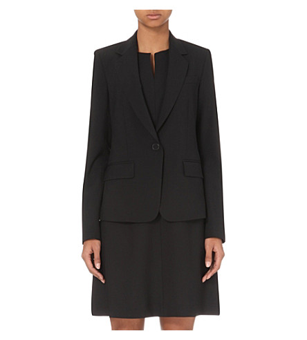 THEORY Edition 2 stretch-wool jacket (Black