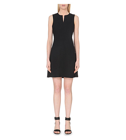 THEORY Miyani stretch-wool dress (Black