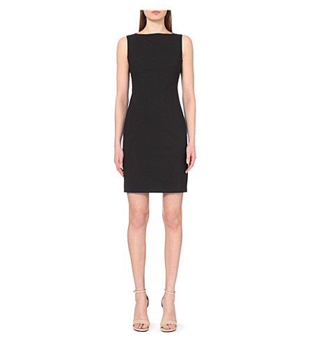 THEORY Betty stretch-wool shift dress (Black