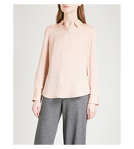 THEORY Tenia silk shirt (Cameo