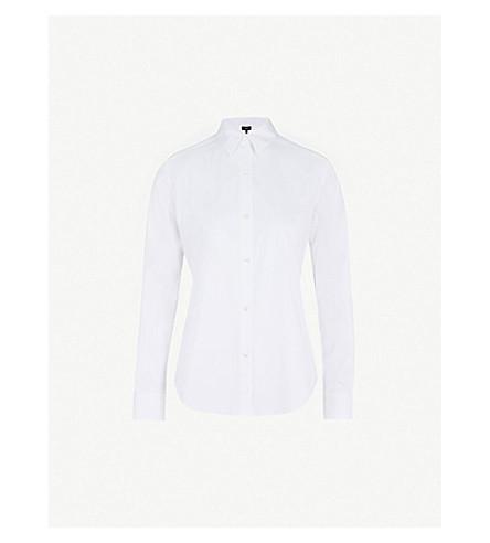 THEORY Tenia luxe white shirt (White