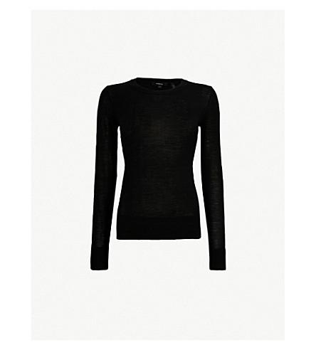 THEORY Kralla wool jumper (Black