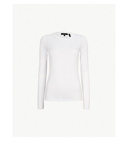 THEORY Jackson cotton-jersey top (White