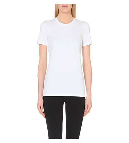 THEORY Johnna cotton-jersey t-shirt (White