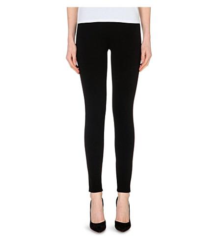 THEORY Shawn stretch-jersey leggings (Black
