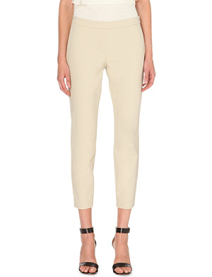 THEORY Thaniel stretch-cotton trousers