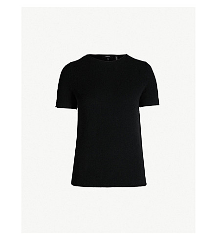 THEORY Tolleree cashmere jumper (Black