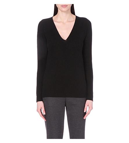 THEORY Adrianna cashmere jumper (Black