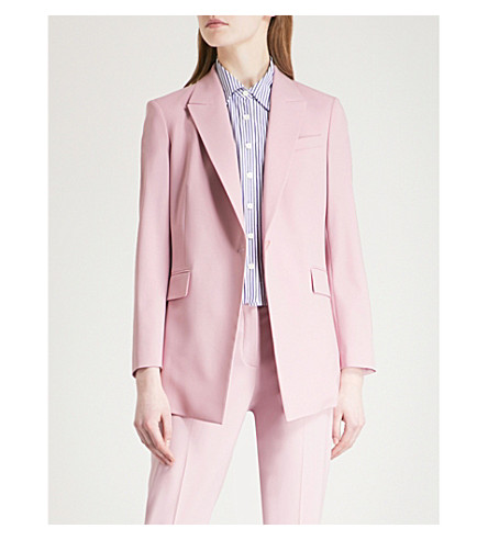 wool THEORY Etiennette THEORY jacket stretch stretch Etiennette wool Berry tint qrISwrYA