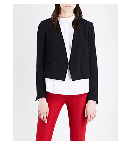 THEORY Rosina stretch-wool jacket (Black