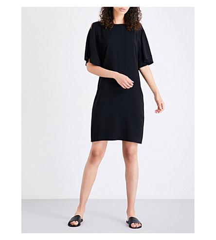 THEORY Andzelika crepe mini dress (Black
