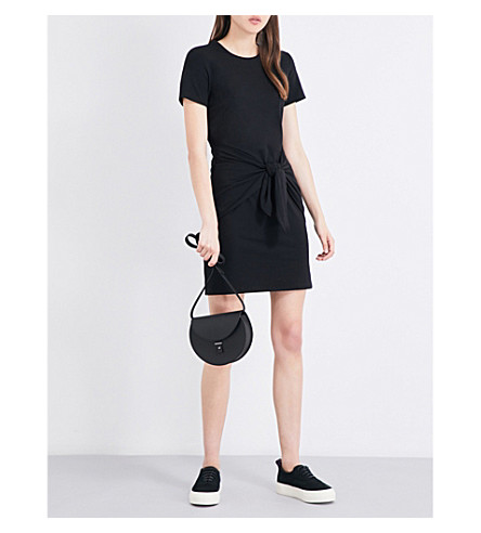 THEORY Dakui waist-tie stretch-jersey dress (Black