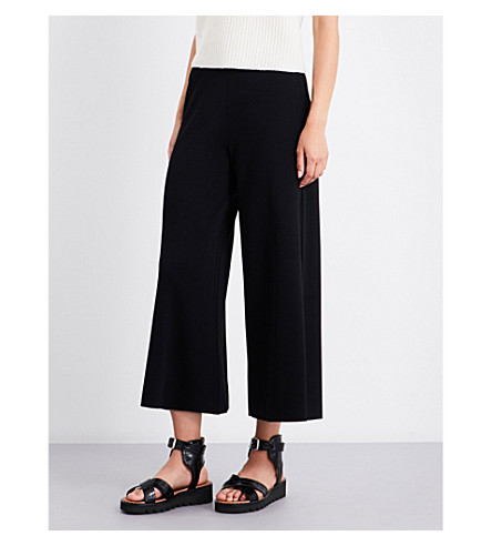 THEORY Henrite knitted trousers (Black