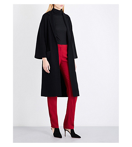THEORY Melisandre B wool-blend coat (Black