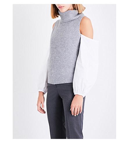 THEORY Turtleneck cashmere top (Husky