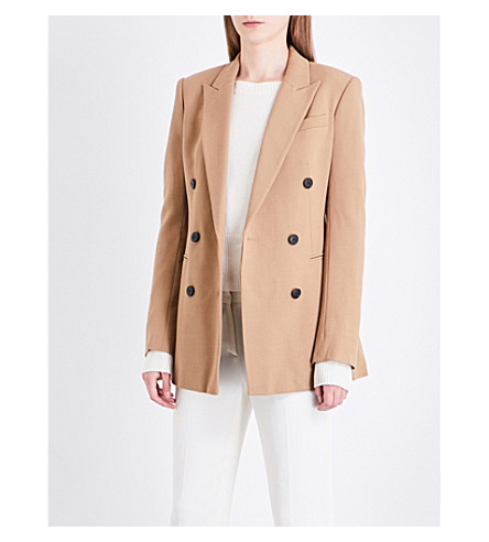 THEORY Double-breasted woven jacket (Graham